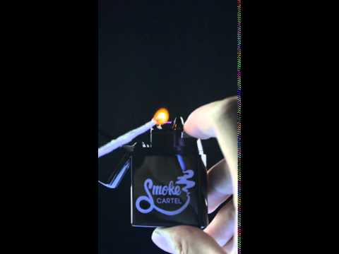 Smoke Cartel Arc Lighter Rechargeable Electronic Lighter