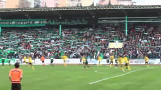 Kocaelispor 1-0 Tekirdağspor | Tribün Görüntüleri Karışık