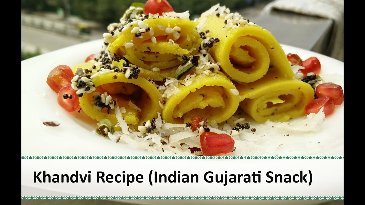 Khandvi recipe indian snacks recipes gujarati snacks recipe by khandvi recipe indian snacks recipes gujarati snacks recipe by healthy kadai forumfinder Choice Image