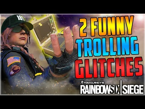 2 NEW FUNNY TROLL GLITCHES IN RAINBOW SIX SIEGE