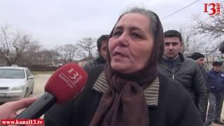 """""""Camaatı qoyun yerinə qoyublar """" -Şüvəlanda qaçqınlar sayğaclaşmaya etiraz etdi"""
