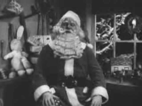 Vintage 1950 Merry Christmas From The Management Theater PSA