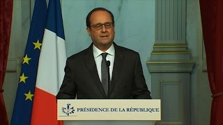 Hollande declares three days