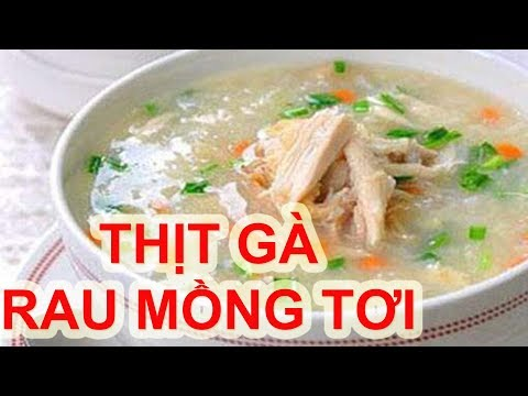 cháo thịt gà tại kienthuccuatoi.com