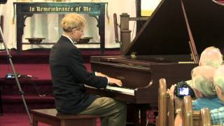 2012 Central Pa Ragtime Festival -Frederick Hodges performs  Temptation Rag