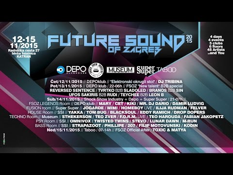 FUTURE SOUND OF ZAGREB Festival 2015 - Official Aftermovie [HD]