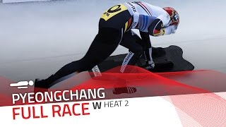 Pyeongchang | BMW IBSF World Cup 2016/2017 - Women's Skeleton Heat 2 | IBSF Official