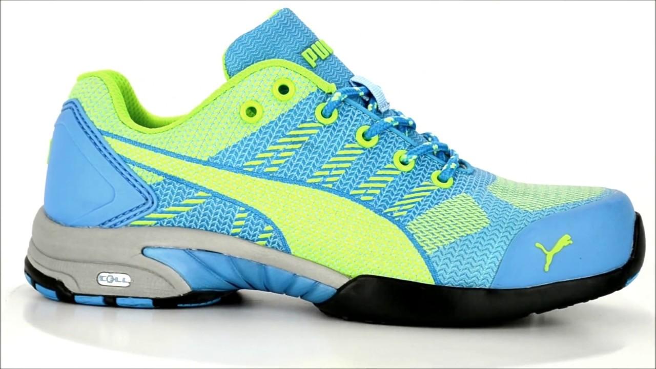 875ab812fa7 Women s Puma Steel Toe Work Shoe 642905   Steel-Toe-Shoes.com - YouTube
