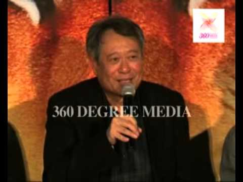 Ang Lee Talks About Indian People's Smile is Best  All Over World- Life of Pi's PC