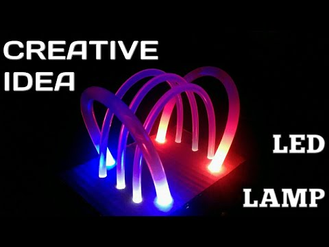 Ide Kreatif, Lampu Hias Dari Lem Tembak