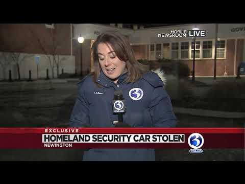 Video: Homeland Security Car Had Equipment, Ammunition In It When It Was Stolen