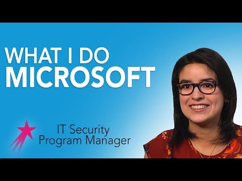 It Security Program Manager: What I Do - Beatris Mendez Gandica Career Girls Role Model