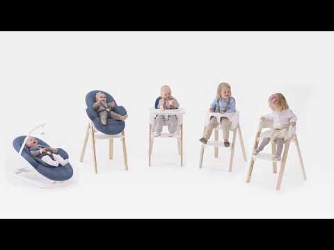Stokke Steps Steps Youtube Haute Stokke Chaise Youtube Chaise Haute kXuZPiTO