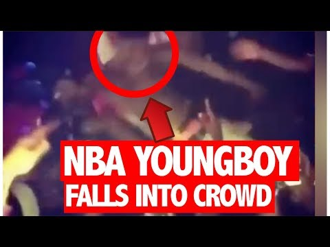 TOO LITTY? NBA Youngboy Blacks Out On Stage & Falls Into Crowd During Show