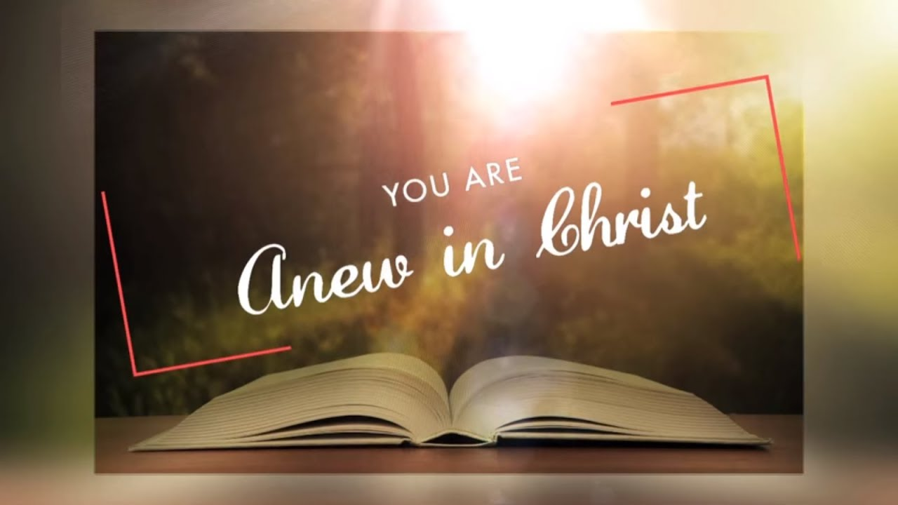 You Are Anew In Christ   Dr. Paul Dhinakaran