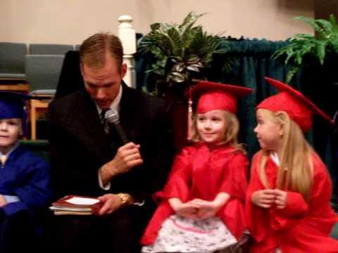 Kindergarten Graduation Interview!