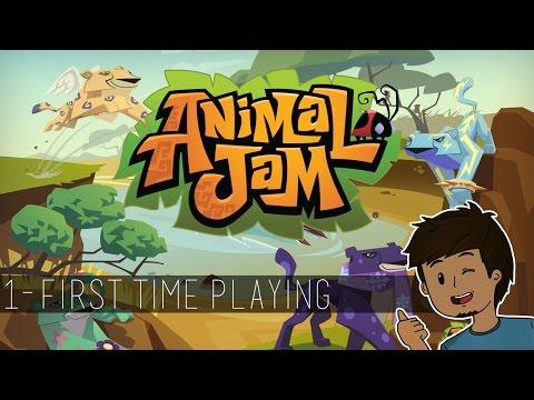 FIRST TIME PLAYING! || Animal Jam || #1