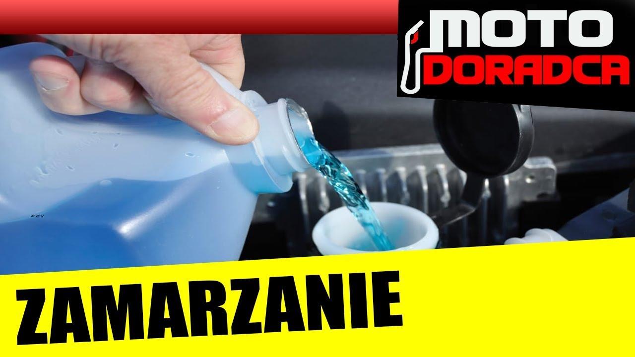Test zimowych płynów do spryskiwaczy – zamarzanie #MOTODORADCA