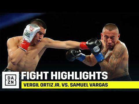 Вирджил Ортис - Сэмюэль Варгас / Vergil Ortiz Jr. vs. Samuel Vargas