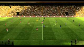 Pro Evolution Soccer 2012 PC DEMO Gameplay A.C. Milan vs. Manchester United