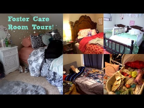 FOSTER CARE ROOM TOURS| 5 ROOMS!