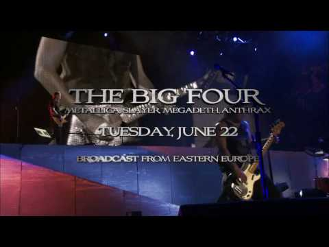 Megadeth - The Big Four: Metallica, Slayer, Megadeth, Anthrax June 22 -- Digital cinema event Thumbnail image
