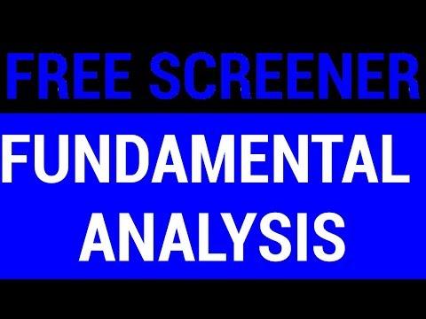 FREE SCREENER for Fundamental Analysis | HINDI
