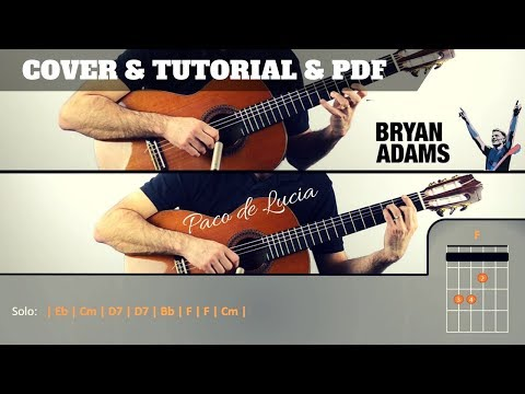 How to play HAVE YOU EVER LOVED A WOMAN I Bryan Adams IFREE PDF | EASY Tutorial CHORDS