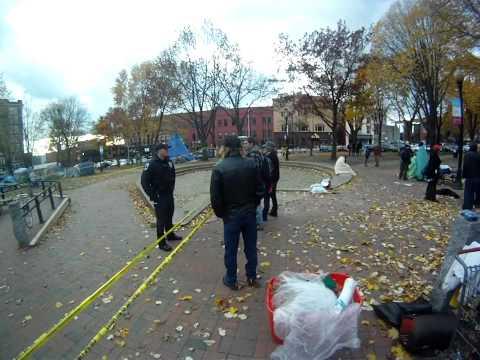 Occupy Burlington, Vt nov 11 gopro