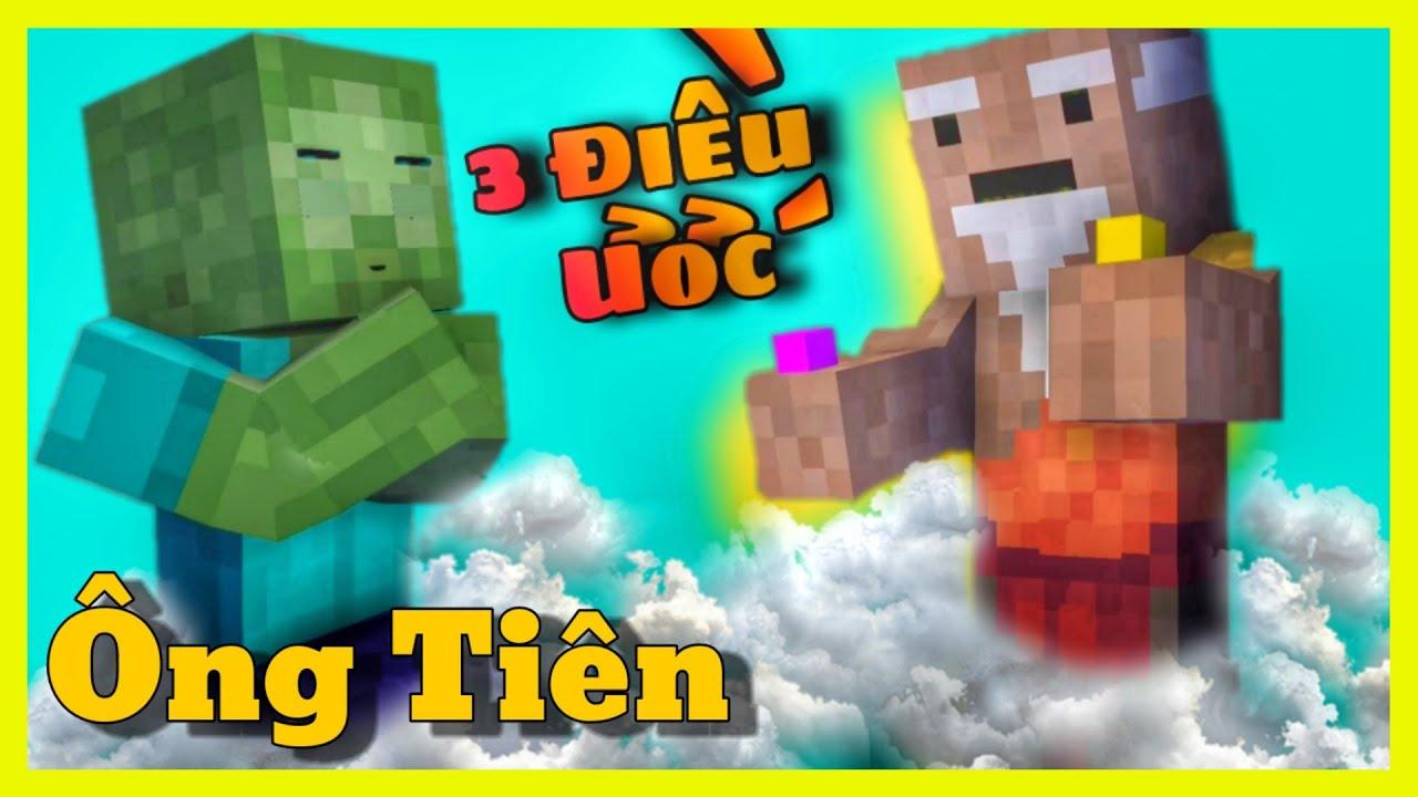 [ Lớp Học Quái Vật ] Ông Tiên Mùa Dịch | Minecraft Animation