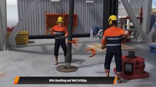Oil Rig Animation - Offshore Handling Tools