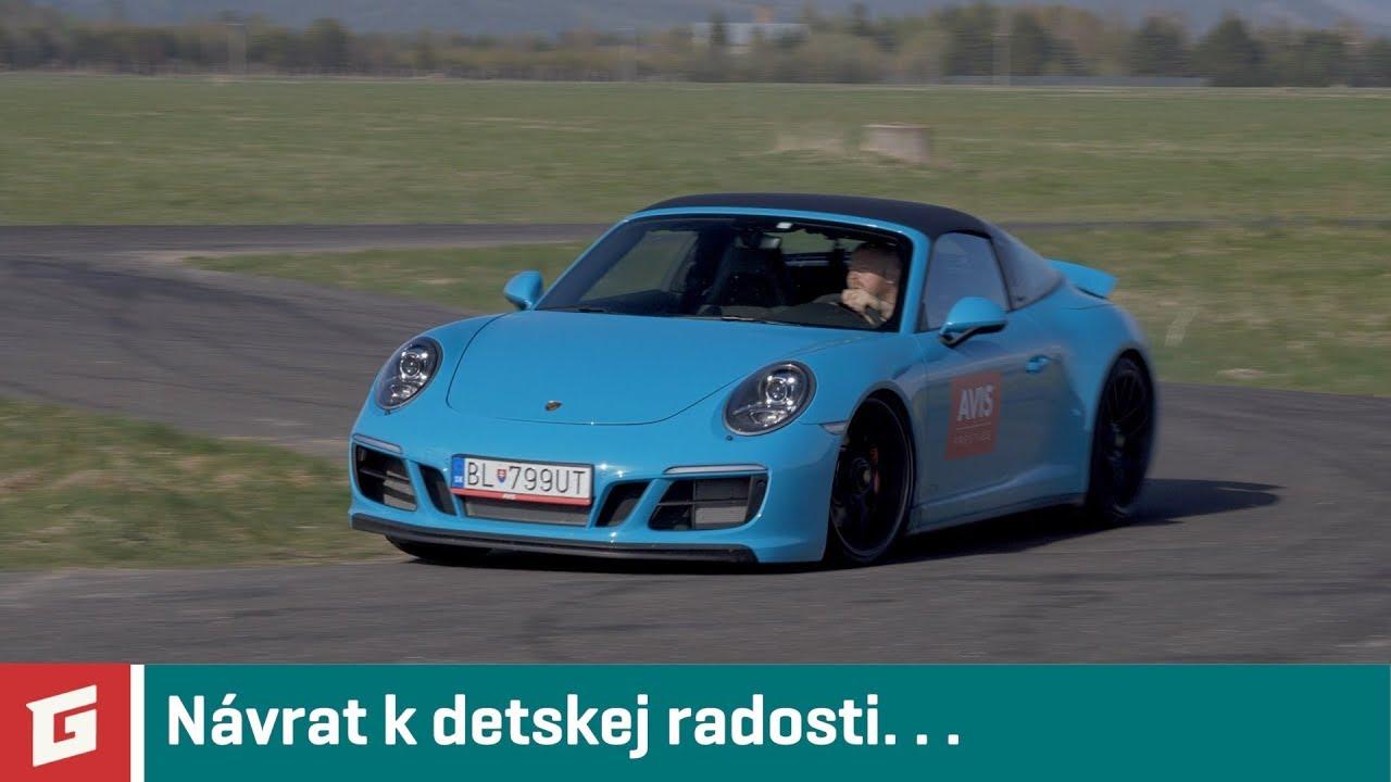 Porsche 911 Targa 4 GTS - rozlúčka s 991 na rýchlostke - GARAZ.TV - YouTube