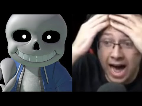 REACTING TO SANS IN SUPER SMASH BROS ULTIMATE
