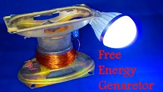 How to make 100% free energy generator without battery with the help of speaker | home invention