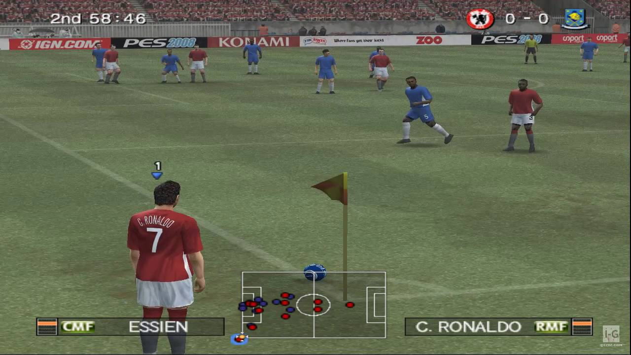 0ca061836865 Pro Evolution Soccer 2008 PS2 Gameplay HD - YouTube