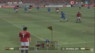 Pro Evolution Soccer 2008 PS2 Gameplay HD