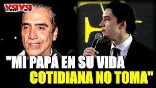 ¡Alex Fernández, hijo del Potrillo asegura que su padre nunca ha ido a rehabilitación!