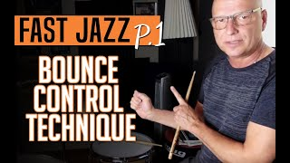 Fast Jazz! - Learn the Bounce Control Technique necessary to play fast tempos!