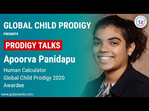 Apoorva Panidapu In A Candid Talk With Global Child Prodigy