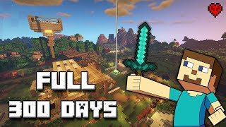 I Survived 300 Days in Minecraft Hardcore