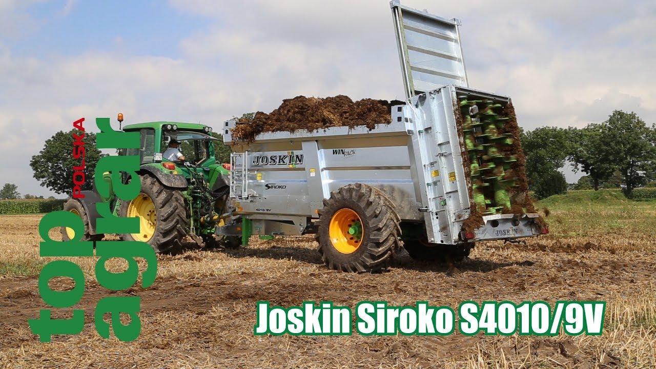 Test Joskin Siroko S4010/9V – rozrzutnik obornika