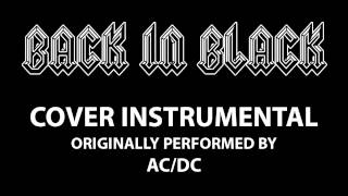 Back In Black (Cover Instrumental) [In the Style of AC/DC]