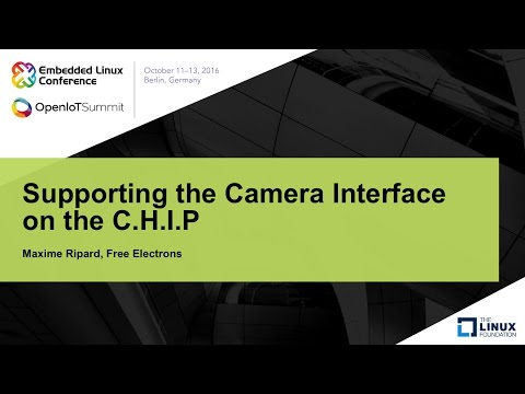 Supporting the Camera Interface on the C.H.I.P