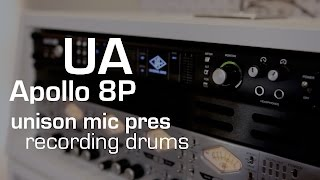 Download Recording Drums with Universal Audio Apollo 8P (unison mic pres) MP3 song and Music Video