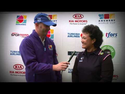 Flash Interviews 2012 -- Shanghai Day 2 -- Archery World Cup Stage 1