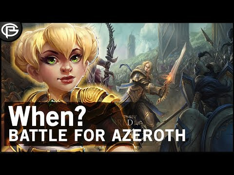Battle for Azeroth Release Date?