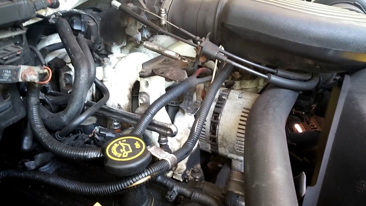 98 Ford Expedition 5 4l Triton V8 Engine