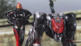 Metal Gear Rising Revengeance 'Bladewolf All Cutscenes' Complete Movie【Mistral HD】DLC