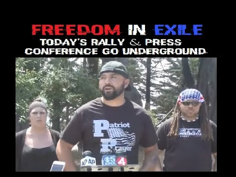 Freedom in Exile - Today's Rally & Press Conference Go Undeground