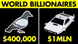 10 CRAZIEST Things Bought By Billionaires